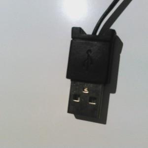 ダイソー USBケーブル
