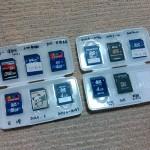 SDカード 収納 セリア